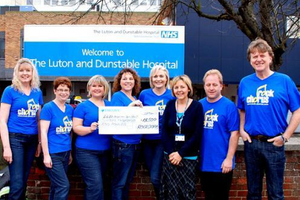 Rock Chorus drums up £14k for cancer care unit at the Luton and Dunstable hospital